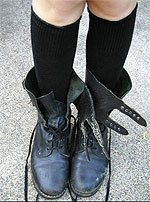 Authentic military bootsocks