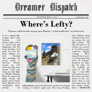Have You Seen Lefty?