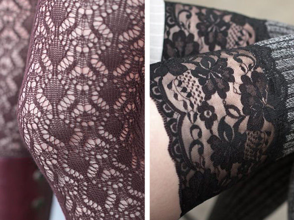 e444a600d56 On left is a detail shot of knit lace